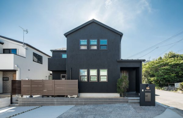 COOL BLACK COUNTER HOUSE